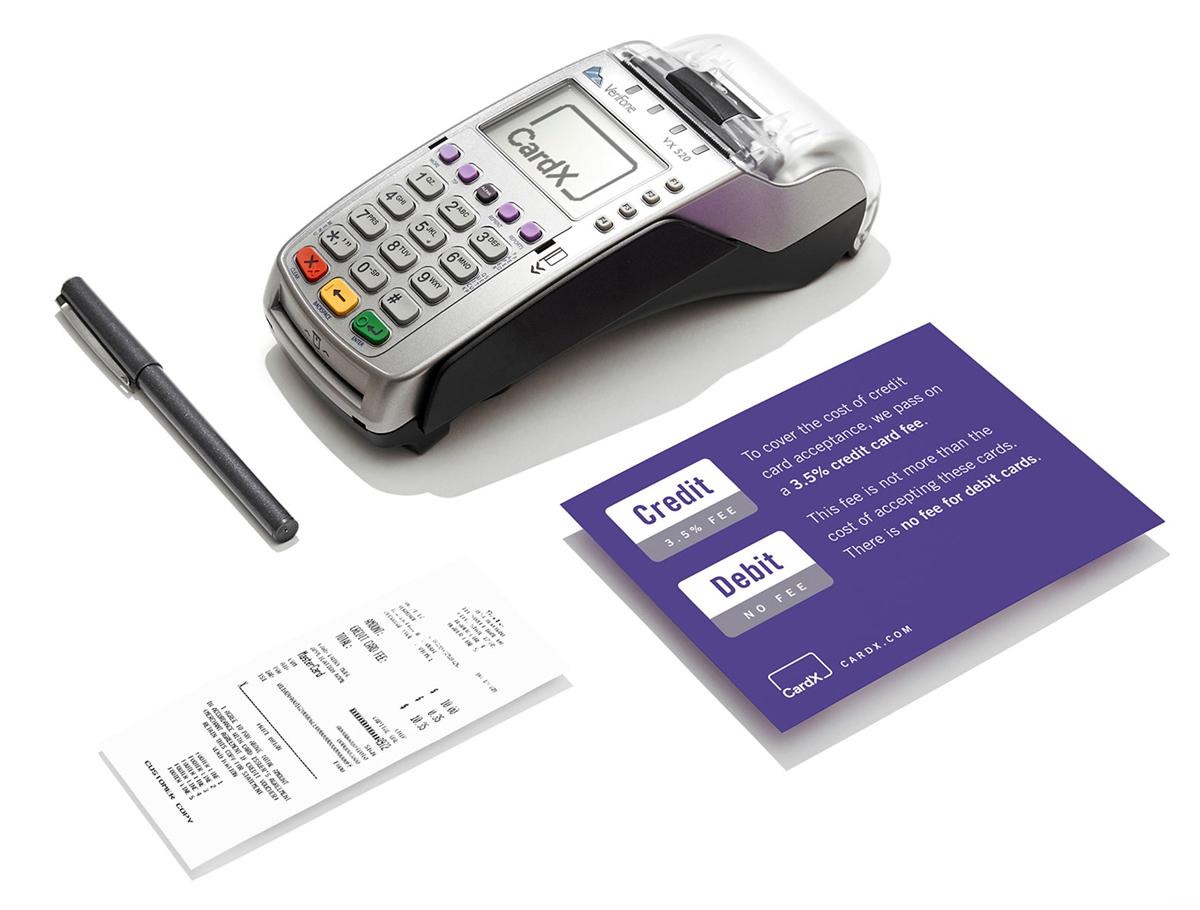 Zero cost credit card processing