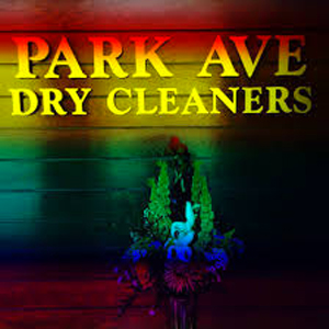Sign for Park Avenue Dry Cleaners